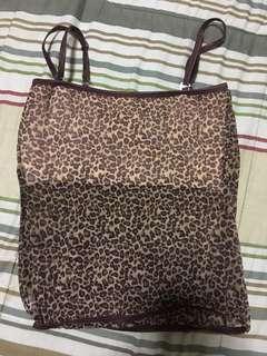 Animal Print sleeveless