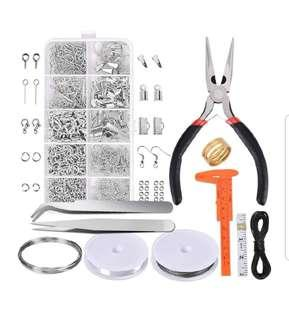 Jewerly Making Supplies Kit and Repair tools