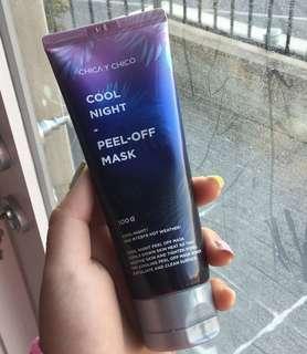 Cooling peel off mask