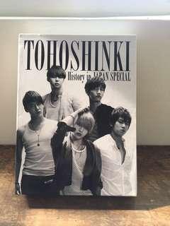 🚚 東方神起 日本活動全紀錄 初回版 4CD