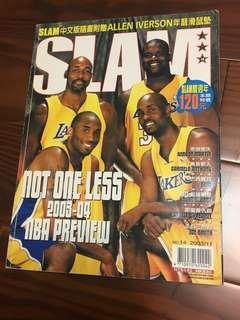 🚚 Slam雜誌 2003年11月號 封面為湖人F4 Kobe O'Neal Malone Payton