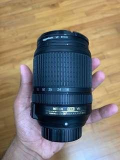 Nikon 18-140mm 1:3.5-5.6G ED VR DX