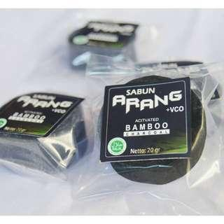 Sabun arang + VCO dan GLISSERIN