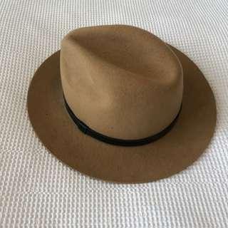 KOOKAI BROWN HAT - WOOL 100%
