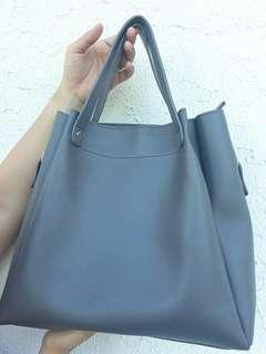 Parisian Gray Hand Bag