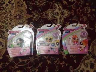 The powerpuff girls toys per set