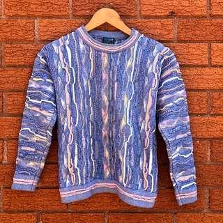 Authentic Emaroo sweater - pastel blue - vintage