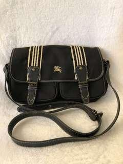 Original Burberry Blue Label Black Crossbody bag