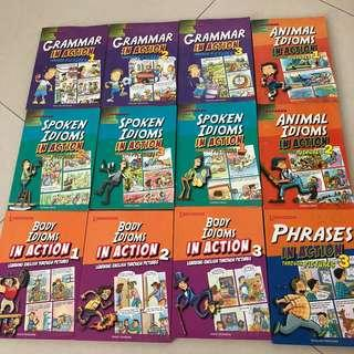 Learners English Educational Books P1-P6