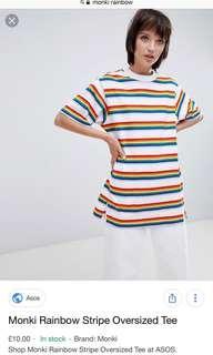 MONKI Rainbow Tshirt