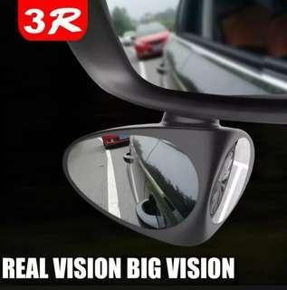 Car Rear View Mirror Car Blind Spot 360 Rotation Adjustable  Safety