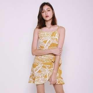 [PO] Holiday Summer Cami Wrap Dress