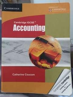 IGCSE cambridge accounting textbook