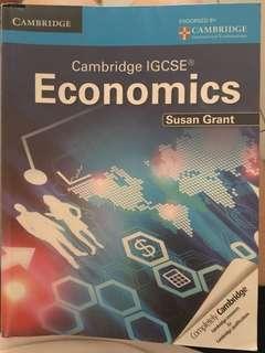 IGCSE cambridge economics textbook