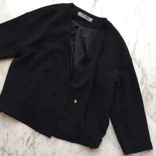 Zara Black Blazer #yukjualan