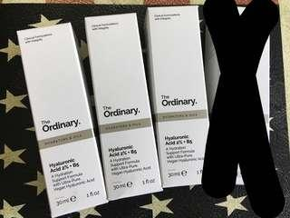 The Ordinary Hyaluronic Acid 2% + B5 A hydration support formula with ultra-pure, vegan hyaluronic acid