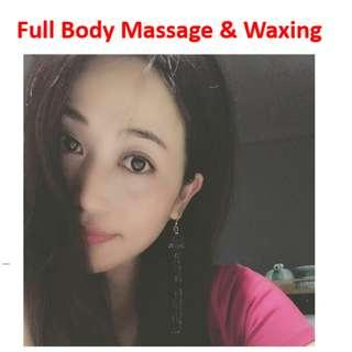 Body Massage & Hair Removal & Waxing & Facial Treatment