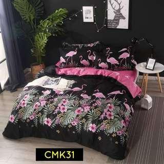 Bedding Set Sekali Comforter 6in1