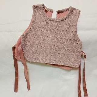 🚚 寶寶綁帶背心 馬甲 9M 嬰兒 衣服 新生兒 爬服 嬰幼兒 童裝