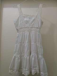 (20% Off) White Dress