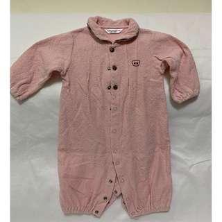 🚚 寶寶長袖連身衣 附帽 金安德森 6M 嬰兒 包屁衣 衣服 新生兒 爬服 嬰幼兒 童裝
