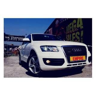 AUDI Q5 2.0 ( A ) TFSI QUATTRO !! TURBO !! S-LINE NEW FACELIFT !! SPORT EDITION !! PREMIUM FULL HIGH SPECS COMES WITH POWER BOOT MEMORY ELECTRICAL SEATS & ETC !! ( WXX 8126 ) 1 CAREFUL OWNER !!
