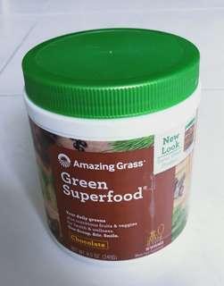 Brand New Sealed Amazing Grass Green Superfood Chocolate 240g