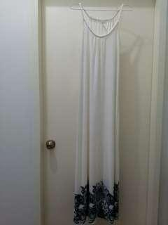 White Formal Maxi Dress from UK