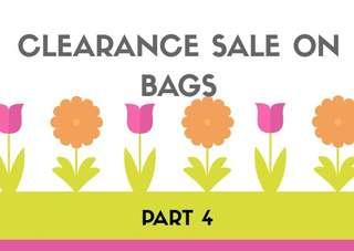 📢Clearance sale on  bags part 4‼️