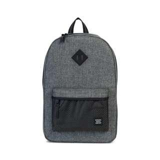 Hershel Aspect Heritage Backpack Raven Crosshatch Grey Brand new