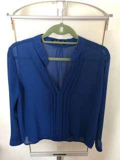 New!! Chiffon Top in Size Small-Medium