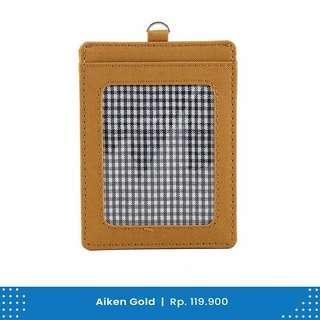 Card Holder Wallts Aiken Gold