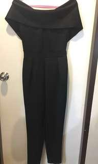 APARTMENT 8 Black Pantsuit