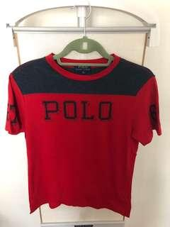 Like New!! Ralph Lauren Tee in Size 10-12 Years Old