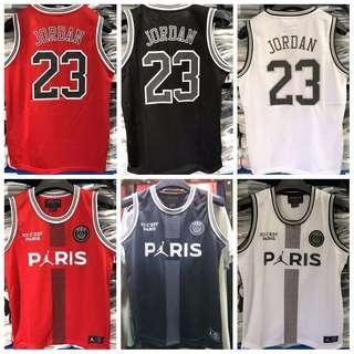 PSG Jordan Basketball Jersey