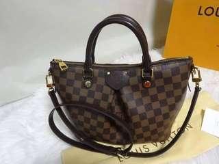 3159432d1748 Authentic Louis Vuitton Sienna Pm Damier Ebene