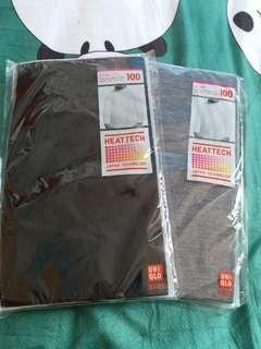 Uniqlo heattech   樽領    全新   100/2