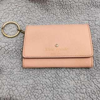 Kate spade original card wallet with keychain