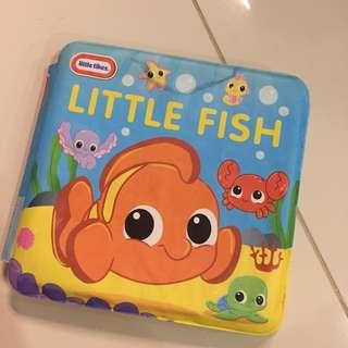 Baby bath book - little tikes