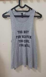 H&M Divided Slip Tank Top