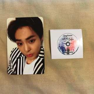Exo Xiumin Love Me Right Photocard