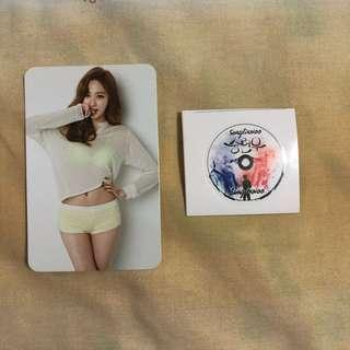 Bestie Love Emotion Haeryung Photocard