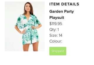 Garden Party Playsuit