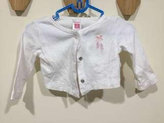 🚚 美國 Carter's 3M 白色薄外套