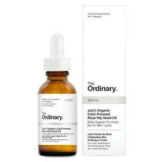 The Ordinary  100% Organic Cold-Pressed Rose Hip Seed Oil SALE
