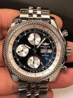 Breitling Bentley GT A13362 Black Dial Special Edition Automatic Men's Watch