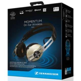 Sennheiser Momentum Wireless On-Ear Headphones (IVORY)