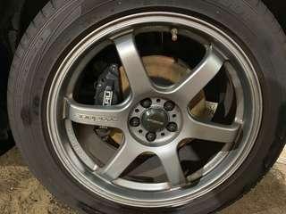 Original Subaru 4/2 pot brakes, installed on forester now