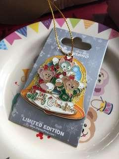 迪士尼襟章 徽章 Disney pin Duffy and friends 聖誕節 Christmas