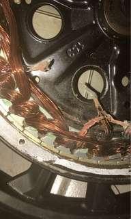 e-bike  Repair Mortal Change mortal coil